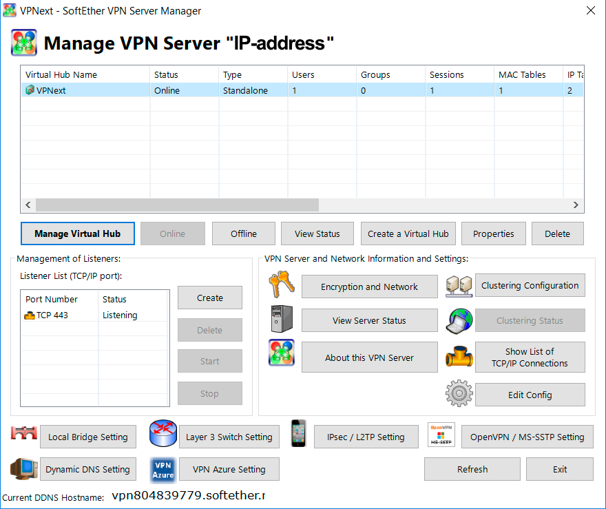 How to set up SoftEther VPN Server Manager | VPNext